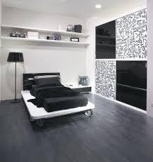 bedroom design black platform bed frame king size wooden