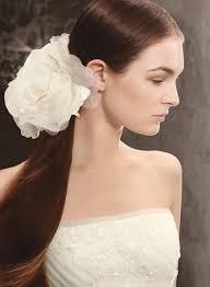 hair corsage hair corsage behold david s bridal s new white by vera wang