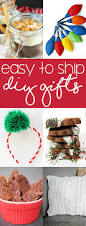 easy to ship diy gifts