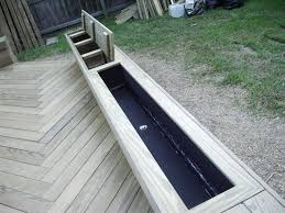 Deck Planters And Benches - 10 best deck planters images on pinterest deck planters