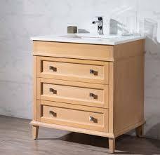 31 Bathroom Vanity 31 Inch Traditional Brown Finish Single Bathroom Vanity Quartz Top