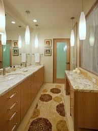 Bathroom Pendant Lighting - denver allen roth closet bathroom rustic with reclaimed wood