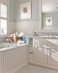 Bathroom With Beadboard Walls by Bathroom With Pastel Walls And Beadboard Wainscoting Popular