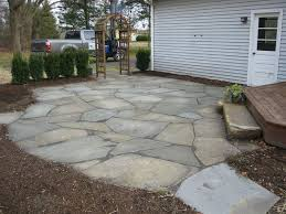 backyard stone patio designs 17 best ideas about stone patios on