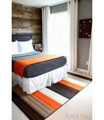 Gray And Orange Bedroom Son Wants Black And Red Bedroom Thinking Of Doing Grey On Bottom