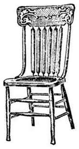 Slat Back Dining Chairs Antique Slat Back Dining Chair At Antique Furniture Us