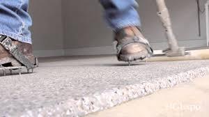 Garage Epoxy Is Epoxy Garage Floor Coating Slippery Youtube