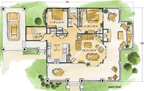 cottage floorplans cozy cottage 11523kn architectural designs house plans