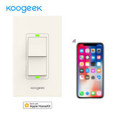 smart light switch homekit koogeek smart home wifi light switch wireless remote control light
