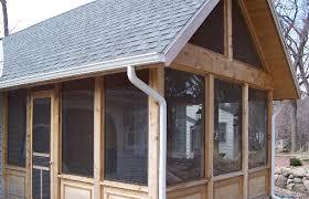 stylish screen porch windows designs with screen porch windows