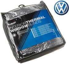 vw transporter t5 internal thermal blinds 3 piece front window