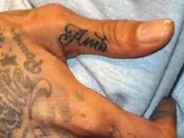 amber rose u0026 wiz khalifa get finger tattoos of love