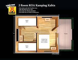 1 Room Cabin Floor Plans Koa Camping Nc Cabins Cool Stuff Pinterest Rv