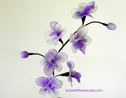 Flowers For Home Decor Purple Dendrobium Orchids Is Holiday Gift For Home Decor