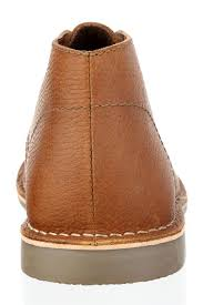 Red Tape Gobi Milled Leather Tan Or Brown Mens Lace Desert Chelsea