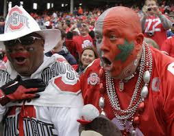 ohio state buckeye fan college football players and coaches change but game day characters