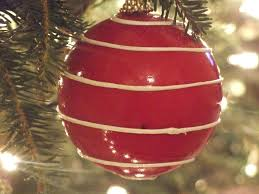 Homemade Christmas Ornaments Homemade Christmas Decorating On A Budget From The Heart The