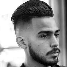 is there another word for pompadour hairstyle as my hairdresser dont no what it is slicked back pompadour mens skin fade hair style medium hair