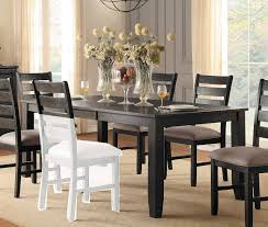 rectangular dining room tables with leaves homelegance stevensville rectangular dining table with leaf 5504