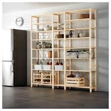ivar 3 sections shelves pine 219x30x226 cm ikea