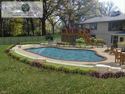 Home Design Cheap Budget Pool Landscaping Ideas On A Budget Pool Design Ideas