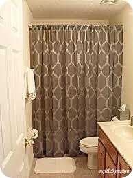 Perfect Apartment Bathroom Ideas Shower Curtain Curtains - Bathroom curtains designs