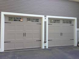 look like barn very easy diy with paint that carriage garage doors