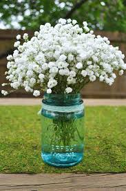 baby breath centerpieces do it yourself babys breath arrangement