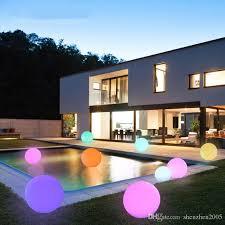 floating pool ball lights online cheap multi color led ball light agptek rgb colors floating