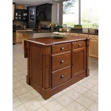 home styles monarch distressed oak and granite top black wooden