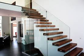 hand crafted cantilevered stair by prestige railings u0026 stairs inc