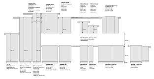 hauteur des meubles de cuisine hauteur meuble de cuisine 4150 sprint co