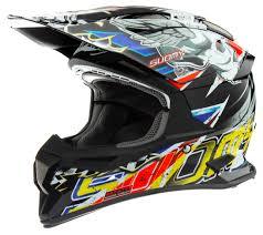 skull motocross helmet suomy carbon alpha skull red helmet ebay