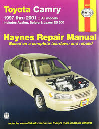 haynes toyota camry 97 01 manual 5055415932311 amazon com books
