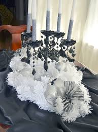 Black And Silver Centerpieces by 99 Best Black And White Masquerade Images On Pinterest Parties