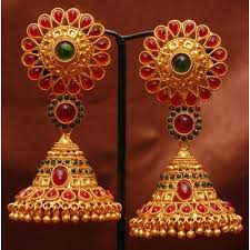 jhumka earrings online 71 best earings images on ethnic jewelry indian