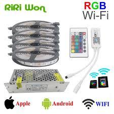 Wireless Led Strip Lights by Riri Won Wifi 10m 15m 20m Rgb Led Strip Dc12v Led Strip Light 5050