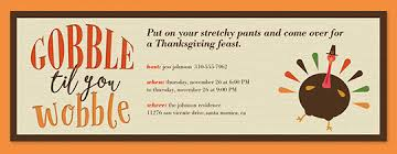 free thanksgiving invitations for emails happy thanksgiving