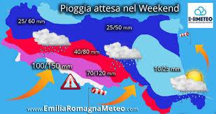Mm Di Pioggia Emiliaromagna Meteo Forti Piogge Ed Intense Raffiche Di Vento