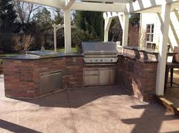 outdoor kitchen island brick outdoor kitchen island in superior co hi tech appliance