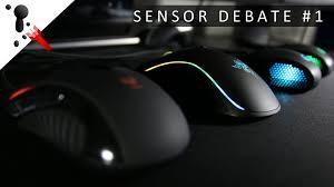 black friday gaming mouse the great sensor debate 1 testing 5 gaming mouse sensors youtube