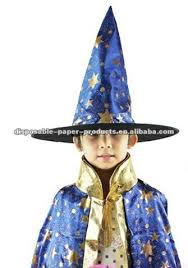 kids costumes girls boys halloween party dress up wizard hat