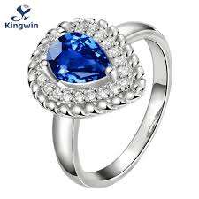 online shop famous brand paris designer ring raindrop shape stone