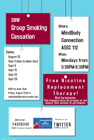 black friday smoker free events studenthealth
