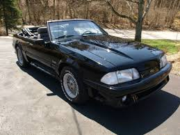 Black Mustang Gt Convertible For Sale 1989 Mustang Gt Convertible 5spd Super Solid Well Kept Beautiful