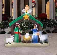 home accents 6 ft h nativity 36707