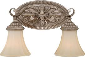 French Bathroom Fixtures Vaxcel W0155 Avenant Traditional French Bronze 2 Light Bathroom