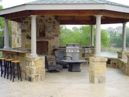 Contemporary Backyard Kitchen Ideas And Designs Pictures Of - Backyard kitchen design