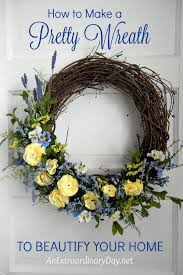 how to make a wreath how to make a pretty wreath to beautify your home an