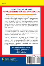 brain games brain teasers logic tests and puzzles to exercise